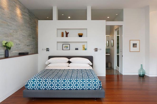 Thiết kế phòng ngủ theo phong cách Midcentury ấm áp đón đông về - Ảnh 7.