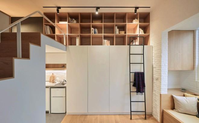Căn hộ có gác xép có tổng diện tích chỉ 22m² đẹp không kém những căn hộ sang chảnh - Ảnh 7.