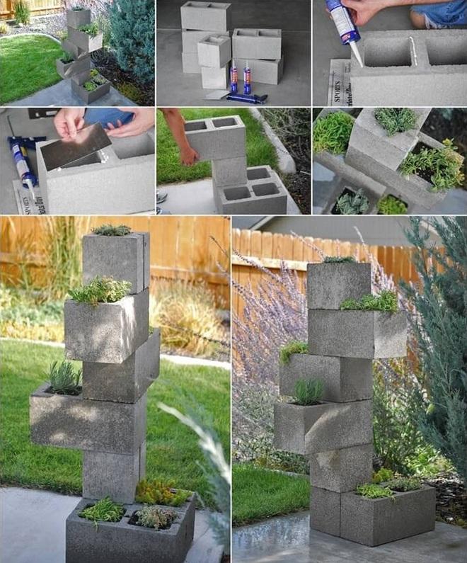 10 ý tưởng trồng cây thẳng đứng tiết kiệm không gian cho nhà chật - Ảnh 8.