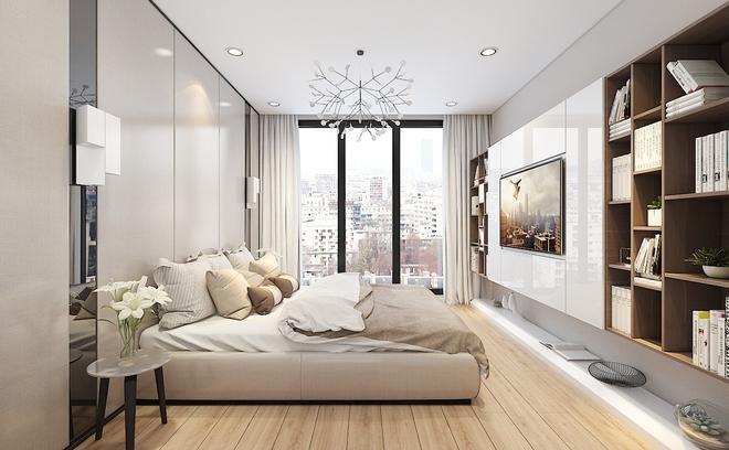 Tư vấn bố trí nội thất cho căn hộ 64m² từ vô số những nhược điểm thành không gian sống đáng mơ ước - Ảnh 7.