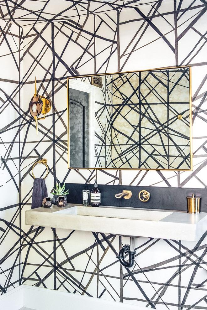 Nhìn ngắm vẻ đẹp khiến tim bạn rụng rời của những mẫu phòng tắm mang phong cách Midcentury - Ảnh 8.