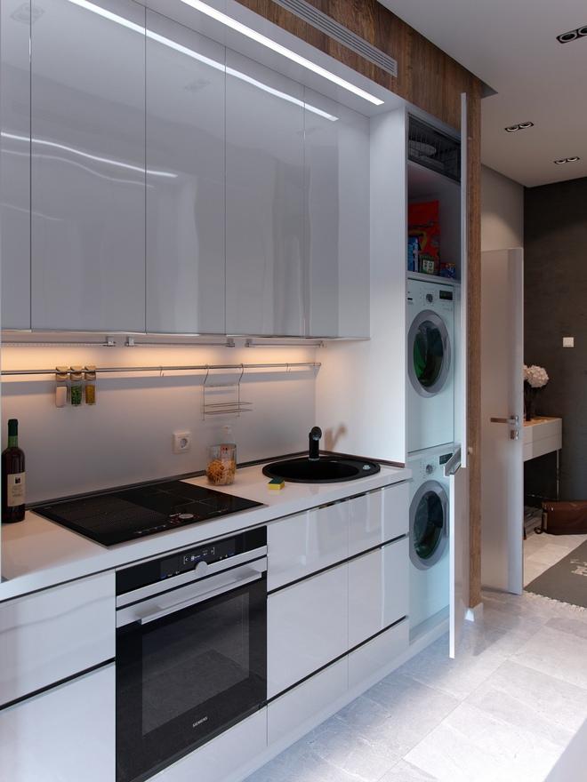 Ấn tượng với thiết kế của căn hộ vỏn vẹn 30m² có những gam màu trang trí vô cùng bắt mắt - Ảnh 8.