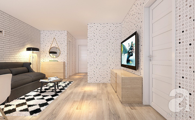 Tư vấn bố trí nội thất căn hộ 67m² với tổng chi phí chưa đến 80 triệu cho chàng trai 23 tuổi độc thân - Ảnh 9.