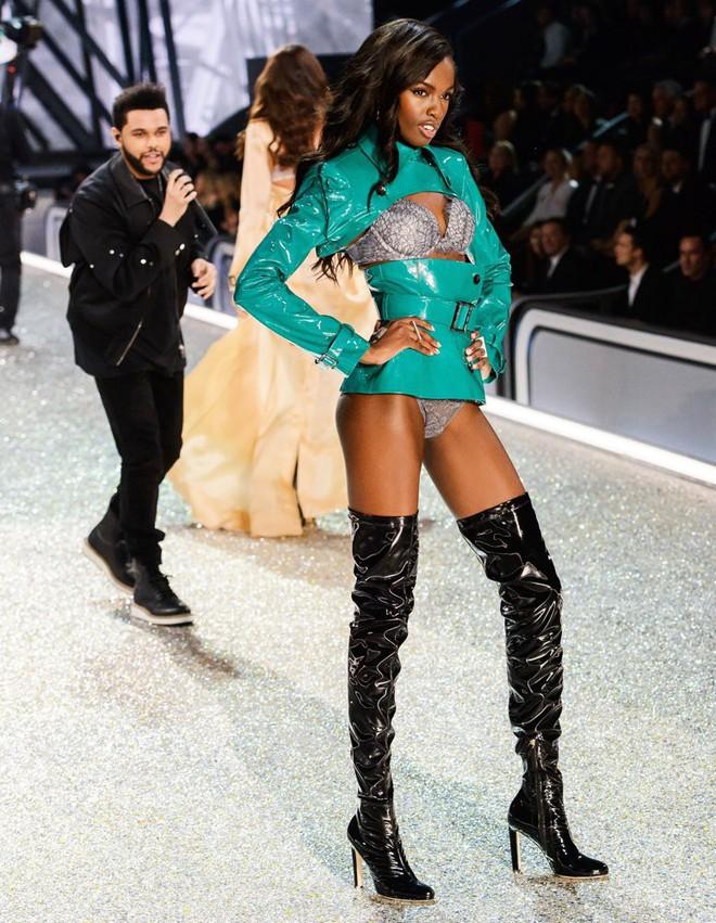 Chân dài Victorias Secret diện đầm của NTK Lê Thanh Hòa lên thảm hồng danh tiếng - Ảnh 8.