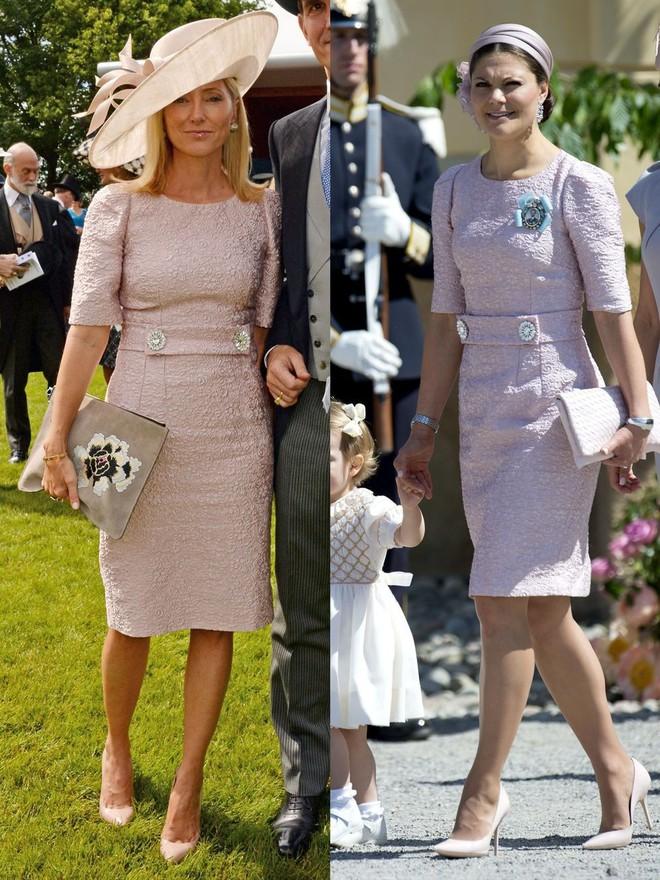 Trước khi trở thành người một nhà, công nương Kate và công nương tương lai Meghan Markle đã có màn đụng hàng váy áo thú vị - Ảnh 8.