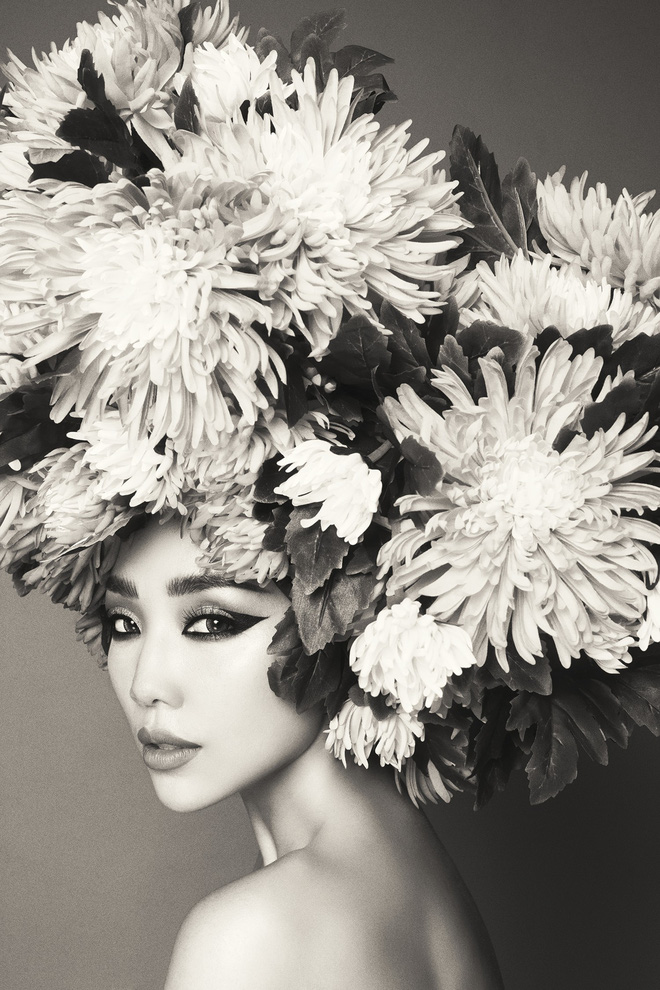 Hà Tăng vai trần, Kỳ Duyên cùng loạt mỹ nhân Việt khác trút bỏ xiêm y trong bộ ảnh của NTK Đỗ Mạnh Cường - Ảnh 9.