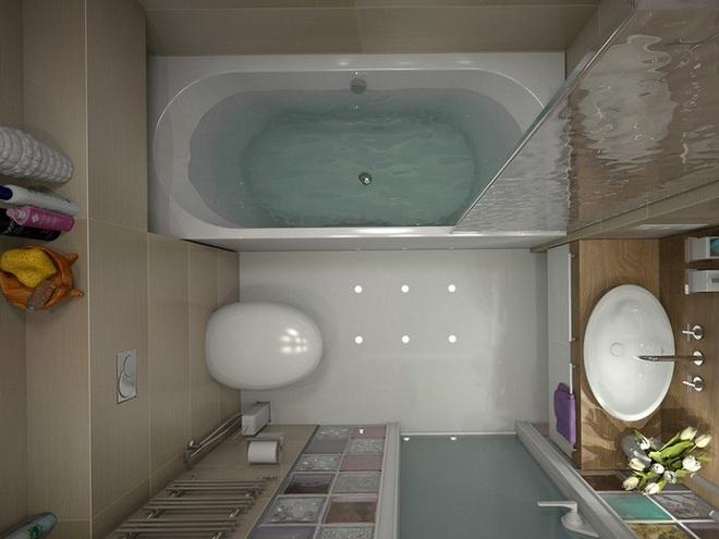 Những lời khuyên thông minh cho nhà tắm diện tích nhỏ thêm tiện dụng  - Ảnh 9.