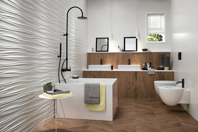 Những nhà tắm bằng gỗ chỉ liếc mắt trông qua cũng đủ khiến bạn xao xuyến - Ảnh 9.