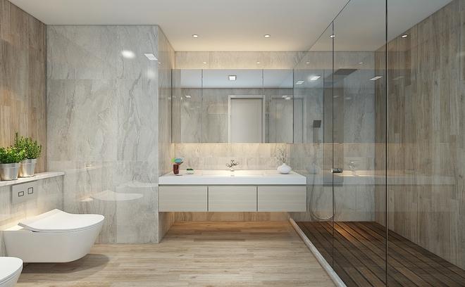 Tư vấn bố trí nội thất cho căn hộ 64m² từ vô số những nhược điểm thành không gian sống đáng mơ ước - Ảnh 9.