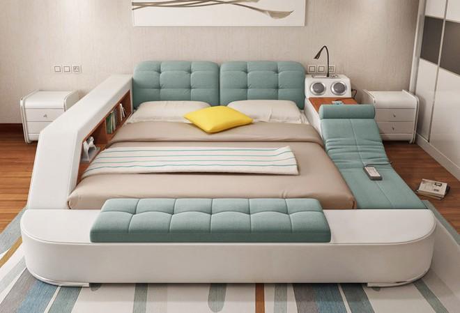 Có chiếc giường đa năng chất thế này thì chỉ muốn nằm lì cả ngày để tận hưởng - Ảnh 13.