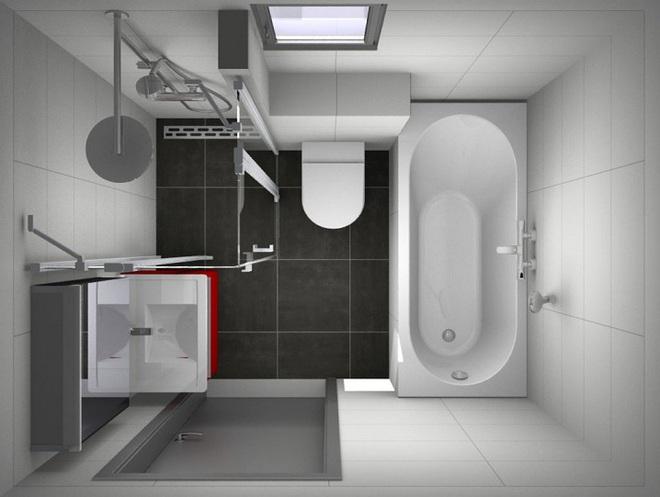 Những lời khuyên thông minh cho nhà tắm diện tích nhỏ thêm tiện dụng  - Ảnh 10.