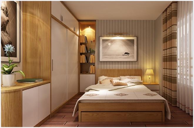 Tư vấn bố trí nội thất căn hộ 70m² với 2 phòng ngủ gọn thoáng và hợp phong thủy cho vợ chồng 8x - Ảnh 10.