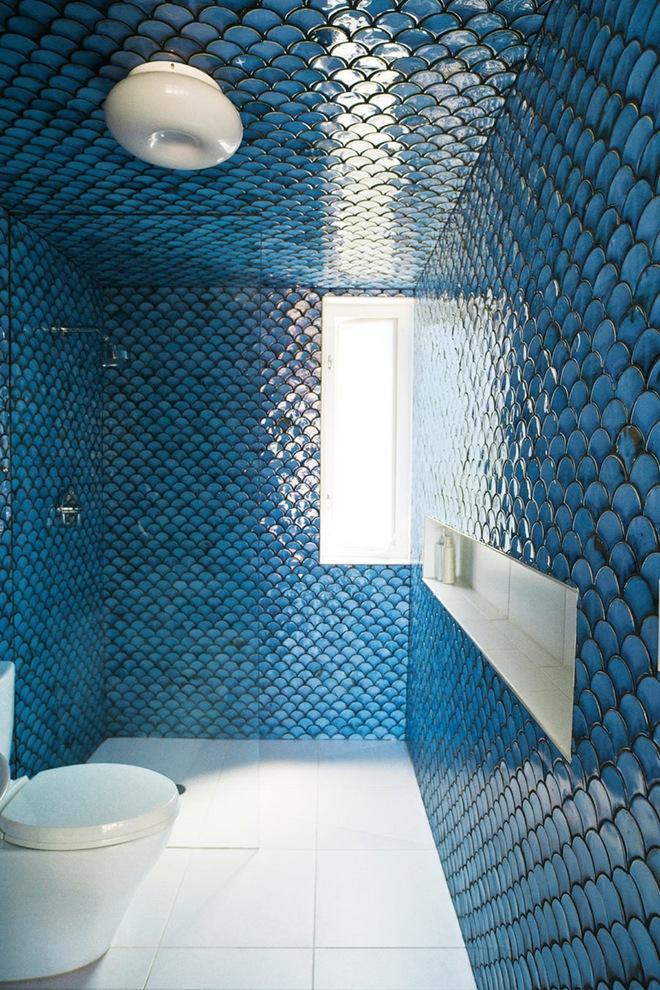 6 cách chọn lựa chất liệu lát phòng tắm giúp tăng hiệu ứng thị giác - Ảnh 10.