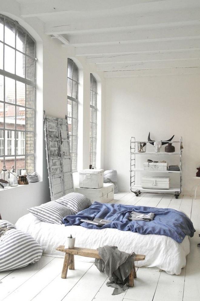 Những căn phòng ngủ chẳng cần đến giường nhưng khiến ai cũng thích - Ảnh 10.