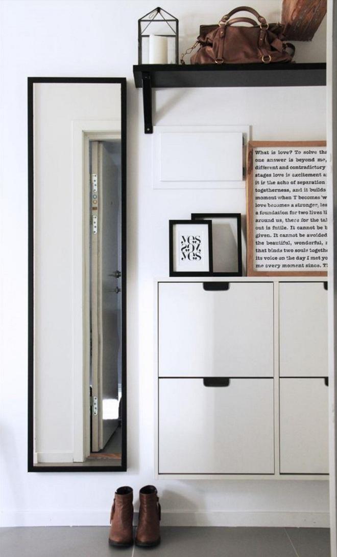 Những thiết kế sảnh căn hộ đậm màu phong cách Bắc Âu - Ảnh 10.