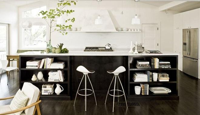 Ngắm hoài không chán 16 căn bếp vượt thời gian với gam màu đen – trắng - Ảnh 9.