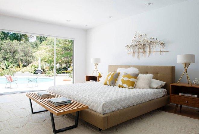 Thiết kế phòng ngủ theo phong cách Midcentury ấm áp đón đông về - Ảnh 10.