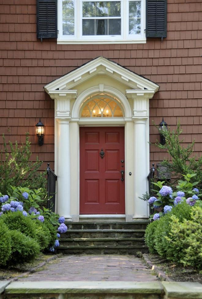 Muôn kiểu cửa nhà có hoa khiến ai ai đi qua cũng phải ngoái nhìn - Ảnh 10.