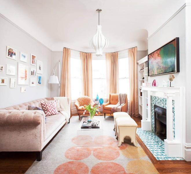 Làm thế nào để bài trí phòng khách nhỏ vỏn vẹn 10m² thành không gian đẹp? - Ảnh 10.