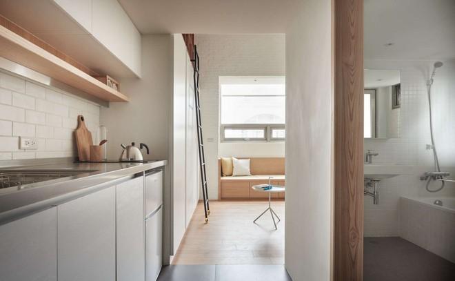 Căn hộ có gác xép có tổng diện tích chỉ 22m² đẹp không kém những căn hộ sang chảnh - Ảnh 10.