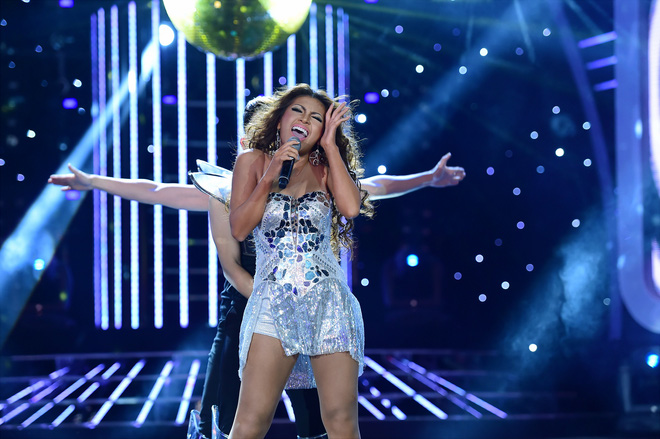 Hóa thân Beyonce, Tố Ny được Hoài Linh khen nức lời - Ảnh 6.