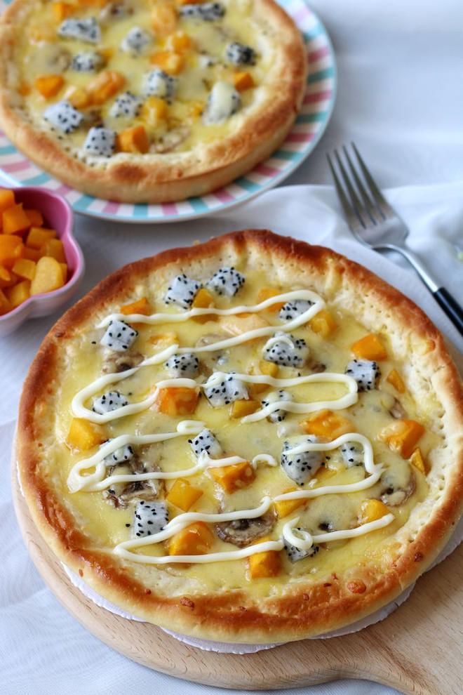 Mách bạn làm bánh pizza trái cây đơn giản mà tuyệt ngon - Ảnh 5.