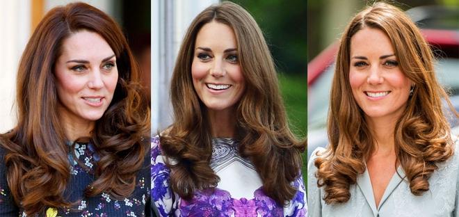 Ngoài gu thời trang thanh lịch, công nương Kate còn khéo chọn kiểu tóc kết hợp cùng - Ảnh 1.