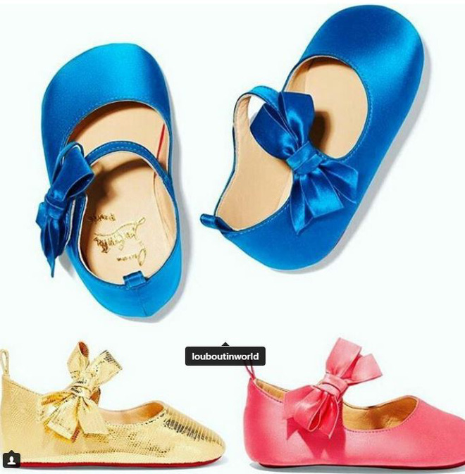 Ông hoàng giày đế đỏ Christian Louboutin lần đầu tiên ra mắt mẫu giày xinh xắn dành cho bé gái - Ảnh 3.