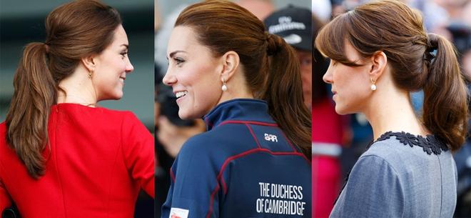 Ngoài gu thời trang thanh lịch, công nương Kate còn khéo chọn kiểu tóc kết hợp cùng - Ảnh 3.