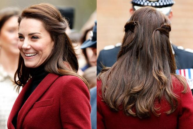 Ngoài gu thời trang thanh lịch, công nương Kate còn khéo chọn kiểu tóc kết hợp cùng - Ảnh 5.