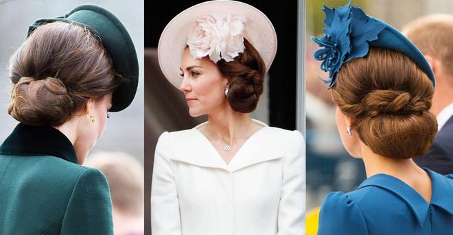 Ngoài gu thời trang thanh lịch, công nương Kate còn khéo chọn kiểu tóc kết hợp cùng - Ảnh 11.
