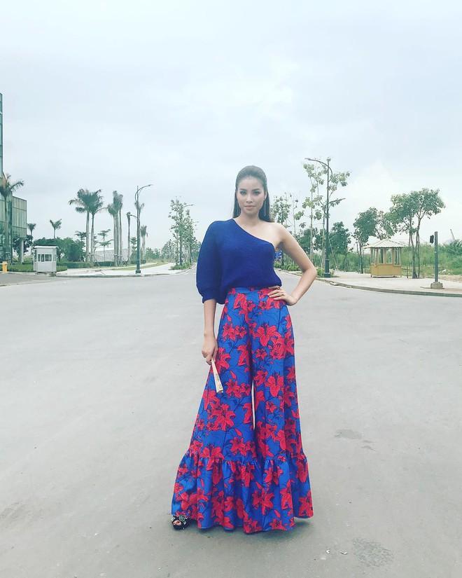 Phạm Hương và 3 phong cách hoàn toàn khác nhau từ The Face, Hoa hậu hoàn vũ 2017 đến The Look - Ảnh 20.