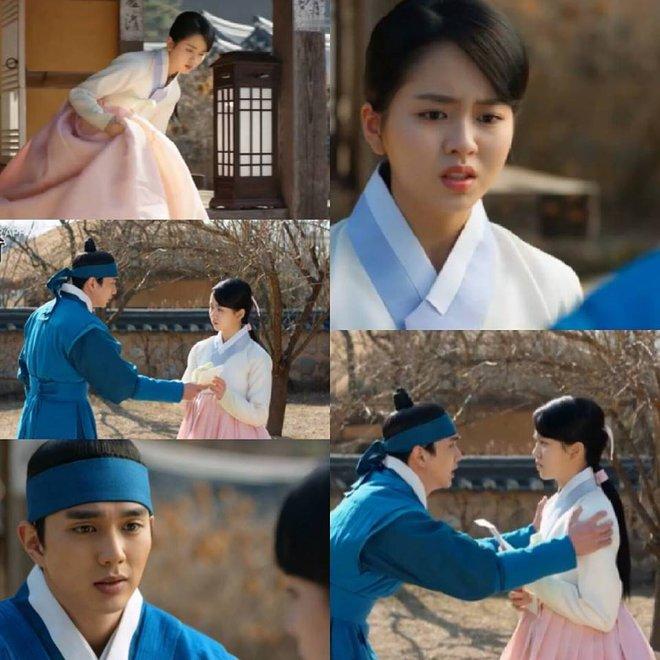 Mặt nạ quân chủ tập 3: Kim So Hyun đau đớn nhìn người yêu chém đầu cha mình - Ảnh 4.