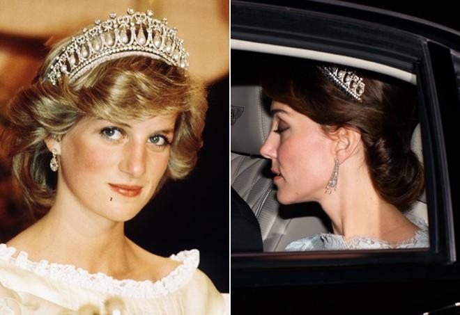Hóa ra hầu hết đồ trang sức của Công nương Kate đều là đồ đi mượn - Ảnh 7.