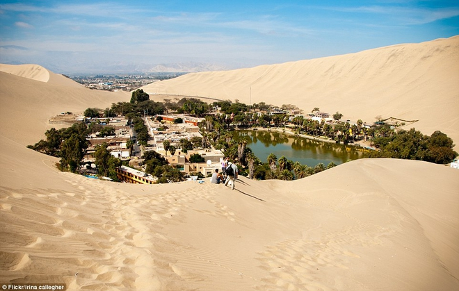 Unbelievable: In the midst of the arid desert, there is a beautiful oasis - Picture 9.