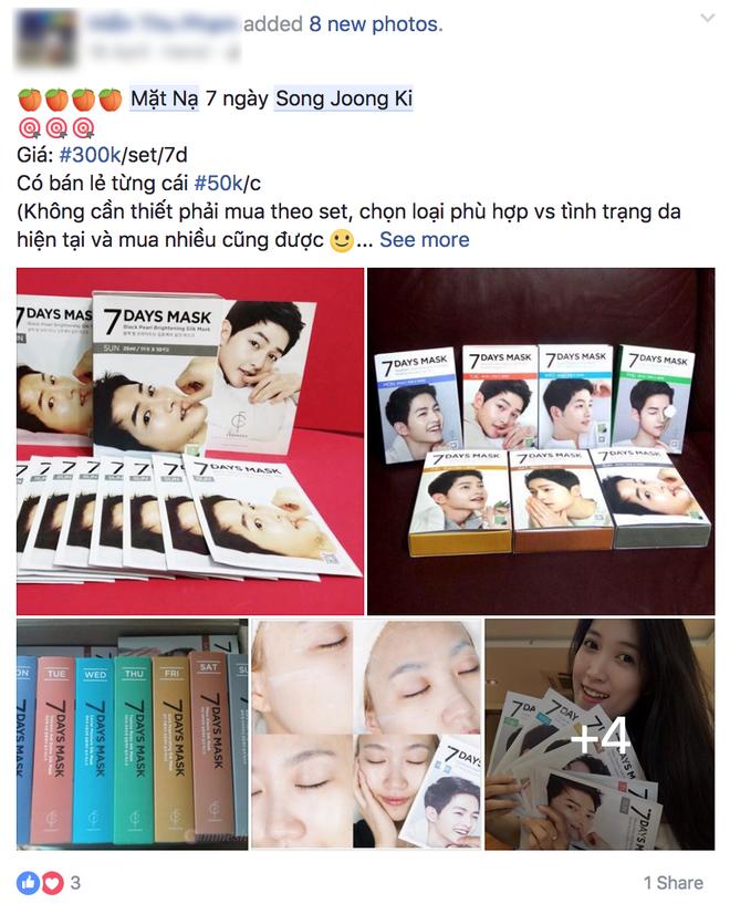 Nhờ sự kiện hot mà mặt nạ 7 ngày của Song Joong Ki lại bán đắt hàng như tôm tươi  - Ảnh 5.