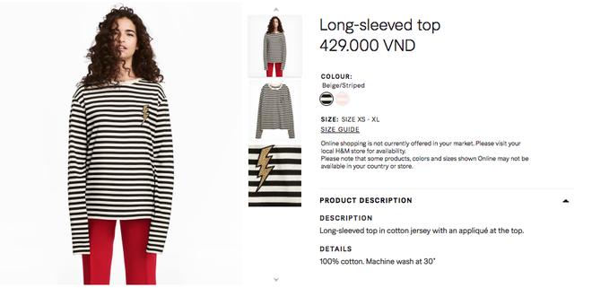 Đồ H&M tại Việt Nam so Thái Lan hay Thuỵ Điển thậm chí còn rẻ hơn - Ảnh 7.