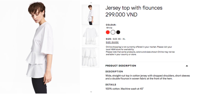 Đồ H&M tại Việt Nam so Thái Lan hay Thuỵ Điển thậm chí còn rẻ hơn - Ảnh 10.
