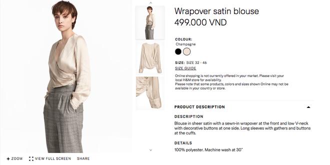 Đồ H&M tại Việt Nam so Thái Lan hay Thuỵ Điển thậm chí còn rẻ hơn - Ảnh 13.