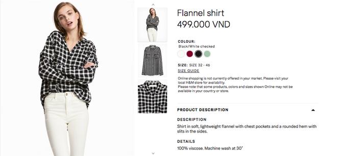 Đồ H&M tại Việt Nam so Thái Lan hay Thuỵ Điển thậm chí còn rẻ hơn - Ảnh 16.