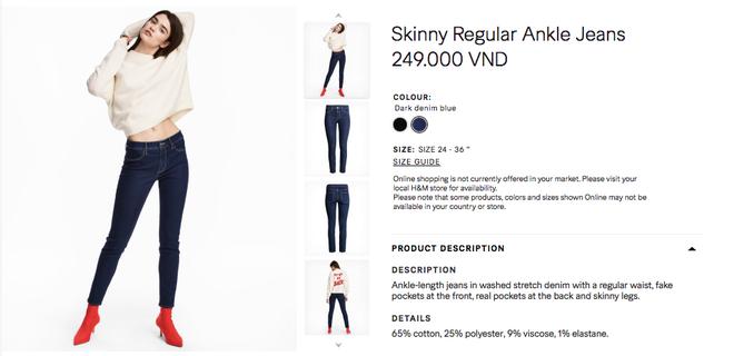 Đồ H&M tại Việt Nam so Thái Lan hay Thuỵ Điển thậm chí còn rẻ hơn - Ảnh 21.