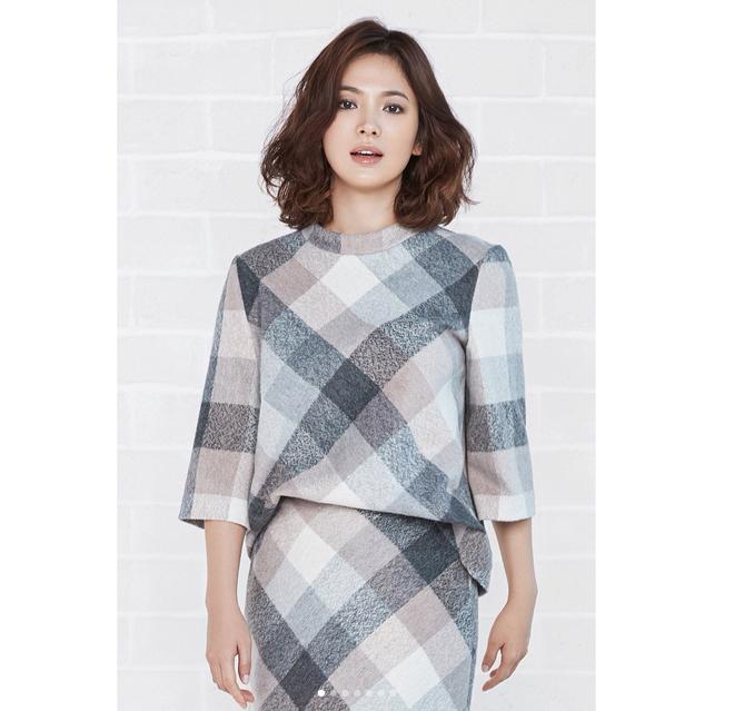 Thực hiện bộ ảnh thời trang cận kề ngày cưới, Song Hye Kyo bỗng tròn đầy hơn hẳn sau nghi vấn bầu bí - Ảnh 8.