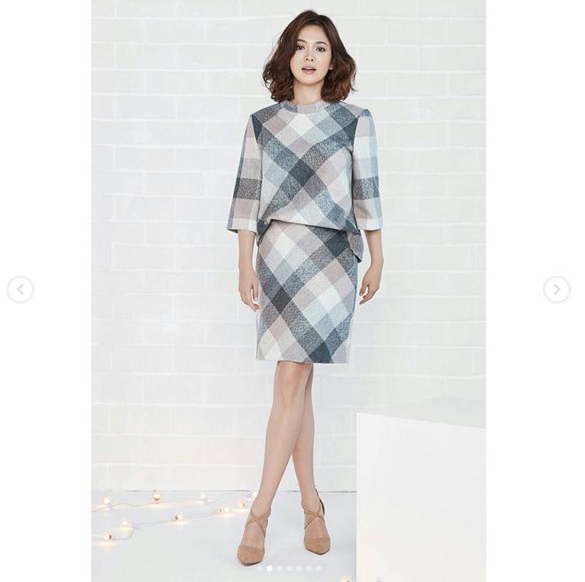 Thực hiện bộ ảnh thời trang cận kề ngày cưới, Song Hye Kyo bỗng tròn đầy hơn hẳn sau nghi vấn bầu bí - Ảnh 9.
