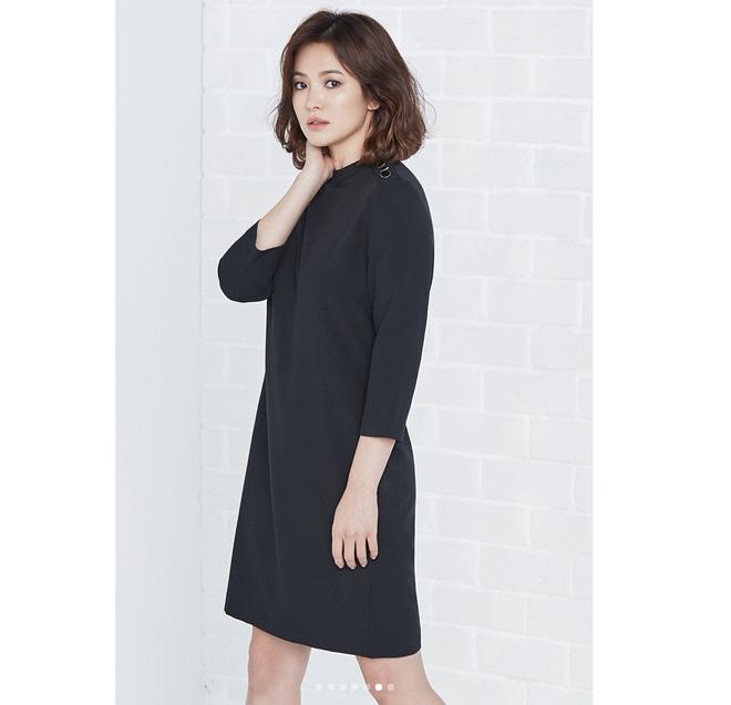 Thực hiện bộ ảnh thời trang cận kề ngày cưới, Song Hye Kyo bỗng tròn đầy hơn hẳn sau nghi vấn bầu bí - Ảnh 6.