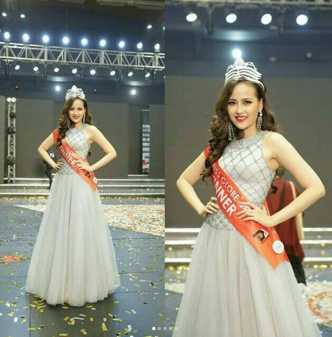 Vừa đăng quang Miss Globe, Khánh Ngân đã bị soi mặc lại váy của Thu Thảo từ năm ngoái - Ảnh 5.