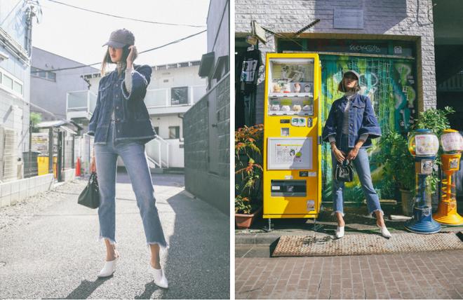 Blazer và jeans chính là combo được các quý cô châu Á ưu ái nhất tuần qua - Ảnh 7.