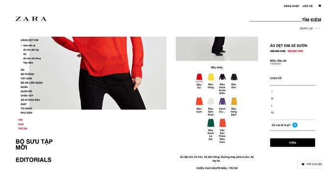 Zara sale 50% và đây là những mẫu áo len, áo nỉ mà các nàng phải vợt ngay kẻo hết size - Ảnh 7.