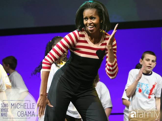 """8 bí quyết để đẹp rạng ngời như Michelle Obama: """"Người phụ nữ mạnh khỏe không cần phải sợ chiếc cân! - Ảnh 3."""