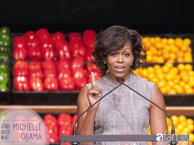 """8 bí quyết để đẹp rạng ngời như Michelle Obama: """"Người phụ nữ mạnh khỏe không cần phải sợ chiếc cân! - Ảnh 2."""