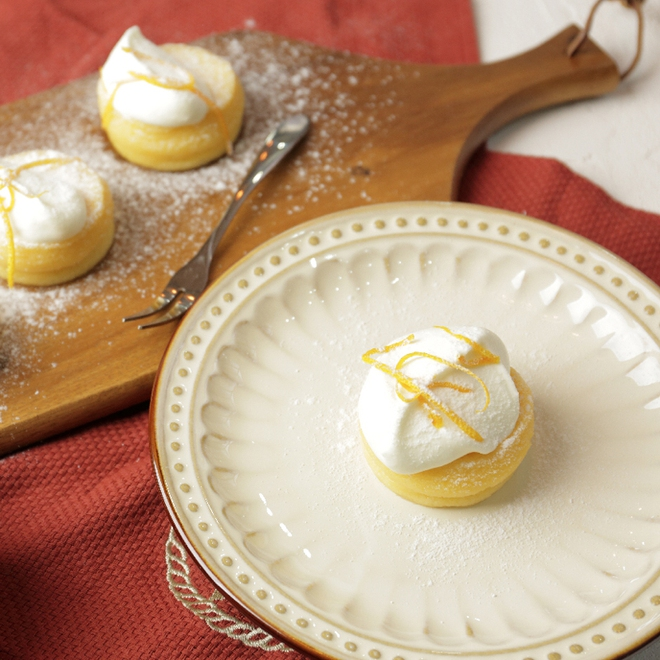 Souffle chanh gừng - món bánh xốp mịn nhẹ như mây - Ảnh 8.